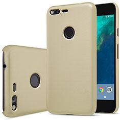 Schutzhülle Kunststoff Hülle Matt für Google Pixel XL Gold