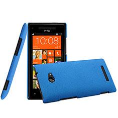 Schutzhülle Kunststoff Hülle Matt für HTC 8X Windows Phone Blau
