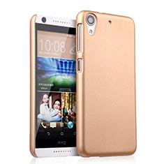 Schutzhülle Kunststoff Hülle Matt für HTC Desire 626 Gold