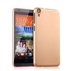 Schutzhülle Kunststoff Hülle Matt für HTC Desire 820 Gold