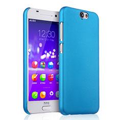 Schutzhülle Kunststoff Hülle Matt für HTC One A9 Hellblau