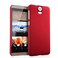 Schutzhülle Kunststoff Hülle Matt für HTC One E9 Plus Rot