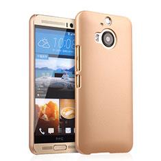 Schutzhülle Kunststoff Hülle Matt für HTC One M9 Plus Gold