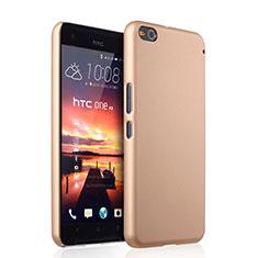 Schutzhülle Kunststoff Hülle Matt für HTC One X9 Gold