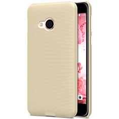 Schutzhülle Kunststoff Hülle Matt für HTC U Play Gold