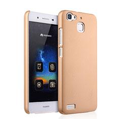 Schutzhülle Kunststoff Hülle Matt für Huawei Enjoy 5S Gold