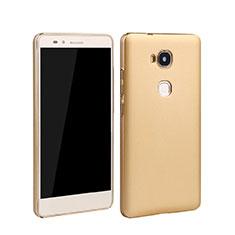Schutzhülle Kunststoff Hülle Matt für Huawei GR5 Gold