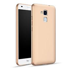 Schutzhülle Kunststoff Hülle Matt für Huawei Honor 5C Gold