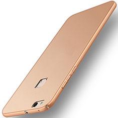 Schutzhülle Kunststoff Hülle Matt für Huawei P10 Lite Gold