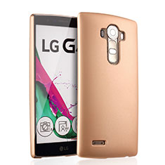 Schutzhülle Kunststoff Hülle Matt für LG G4 Gold