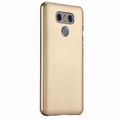 Schutzhülle Kunststoff Hülle Matt für LG G6 Gold