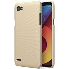 Schutzhülle Kunststoff Hülle Matt für LG Q6 Gold