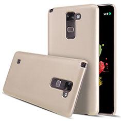 Schutzhülle Kunststoff Hülle Matt für LG Stylus 2 Plus Gold