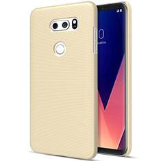 Schutzhülle Kunststoff Hülle Matt für LG V30 Gold