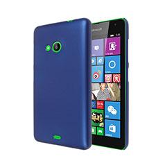 Schutzhülle Kunststoff Hülle Matt für Microsoft Lumia 535 Blau
