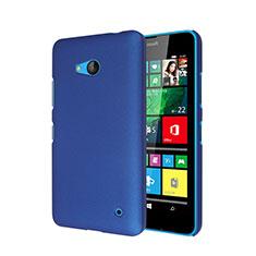 Schutzhülle Kunststoff Hülle Matt für Microsoft Lumia 640 Blau
