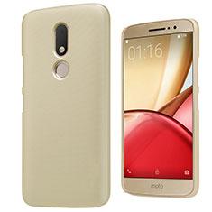 Schutzhülle Kunststoff Hülle Matt für Motorola Moto M XT1662 Gold
