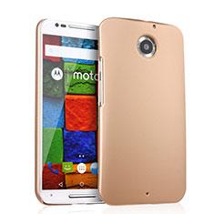 Schutzhülle Kunststoff Hülle Matt für Motorola Moto X (2nd Gen) Gold