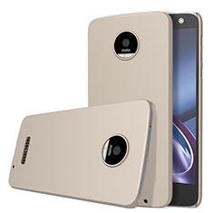 Schutzhülle Kunststoff Hülle Matt für Motorola Moto Z Gold