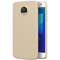 Schutzhülle Kunststoff Hülle Matt für Motorola Moto Z2 Play Gold
