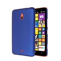 Schutzhülle Kunststoff Hülle Matt für Nokia Lumia 1320 Blau