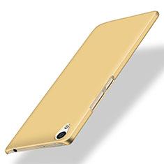Schutzhülle Kunststoff Hülle Matt für OnePlus X Gold