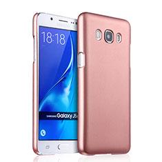 Schutzhülle Kunststoff Hülle Matt für Samsung Galaxy J5 Duos (2016) Rosegold
