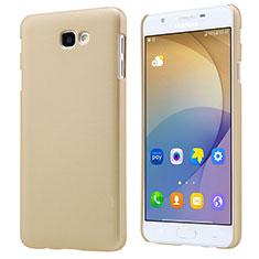 Schutzhülle Kunststoff Hülle Matt für Samsung Galaxy J5 Prime G570F Gold