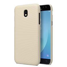 Schutzhülle Kunststoff Hülle Matt für Samsung Galaxy J5 Pro (2017) J530Y Gold