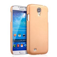 Schutzhülle Kunststoff Hülle Matt für Samsung Galaxy S4 i9500 i9505 Gold