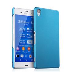 Schutzhülle Kunststoff Hülle Matt für Sony Xperia Z3 Hellblau