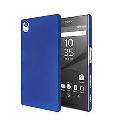 Schutzhülle Kunststoff Hülle Matt für Sony Xperia Z5 Blau