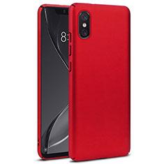 Schutzhülle Kunststoff Hülle Matt für Xiaomi Mi 8 Screen Fingerprint Edition Rot