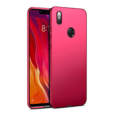 Schutzhülle Kunststoff Hülle Matt für Xiaomi Mi 8 SE Rot