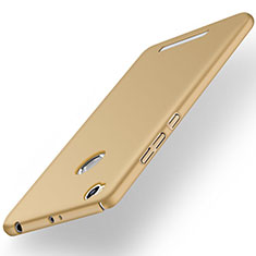 Schutzhülle Kunststoff Hülle Matt für Xiaomi Redmi 3 Pro Gold