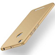 Schutzhülle Kunststoff Hülle Matt für Xiaomi Redmi 3X Gold