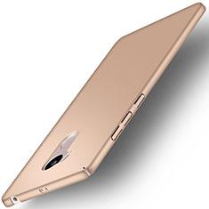 Schutzhülle Kunststoff Hülle Matt für Xiaomi Redmi 4 Prime High Edition Gold