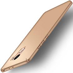 Schutzhülle Kunststoff Hülle Matt für Xiaomi Redmi 4 Standard Edition Gold
