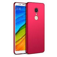 Schutzhülle Kunststoff Hülle Matt für Xiaomi Redmi 5 Rot