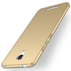 Schutzhülle Kunststoff Hülle Matt für Xiaomi Redmi Note 2 Gold