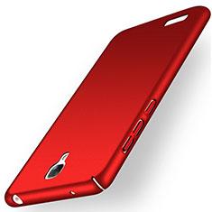 Schutzhülle Kunststoff Hülle Matt für Xiaomi Redmi Note Prime Rot