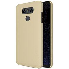 Schutzhülle Kunststoff Hülle Matt M01 für LG G6 Gold