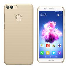 Schutzhülle Kunststoff Hülle Matt M02 für Huawei Enjoy 7S Gold