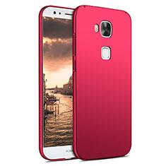 Schutzhülle Kunststoff Hülle Matt M02 für Huawei G7 Plus Rot
