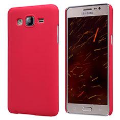 Schutzhülle Kunststoff Hülle Matt M02 für Samsung Galaxy On5 Pro Rot