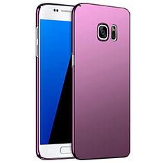 Schutzhülle Kunststoff Hülle Matt M02 für Samsung Galaxy S7 G930F G930FD Violett
