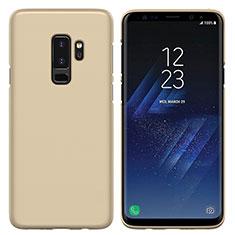 Schutzhülle Kunststoff Hülle Matt M02 für Samsung Galaxy S9 Plus Gold