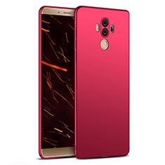 Schutzhülle Kunststoff Hülle Matt M03 für Huawei Mate 10 Pro Rot