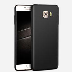 Schutzhülle Kunststoff Hülle Matt M03 für Samsung Galaxy C7 Pro C7010 Schwarz