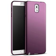 Schutzhülle Kunststoff Hülle Matt M05 für Samsung Galaxy Note 3 N9000 Violett